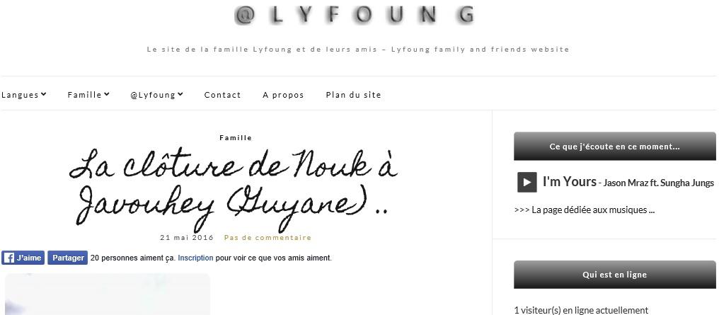 Le site @Lyfoung en français