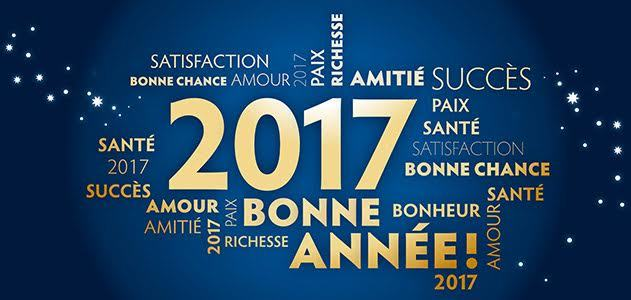 Bonne année 2017 @Lyfoung